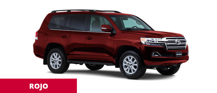 Land Cruiser Rojo